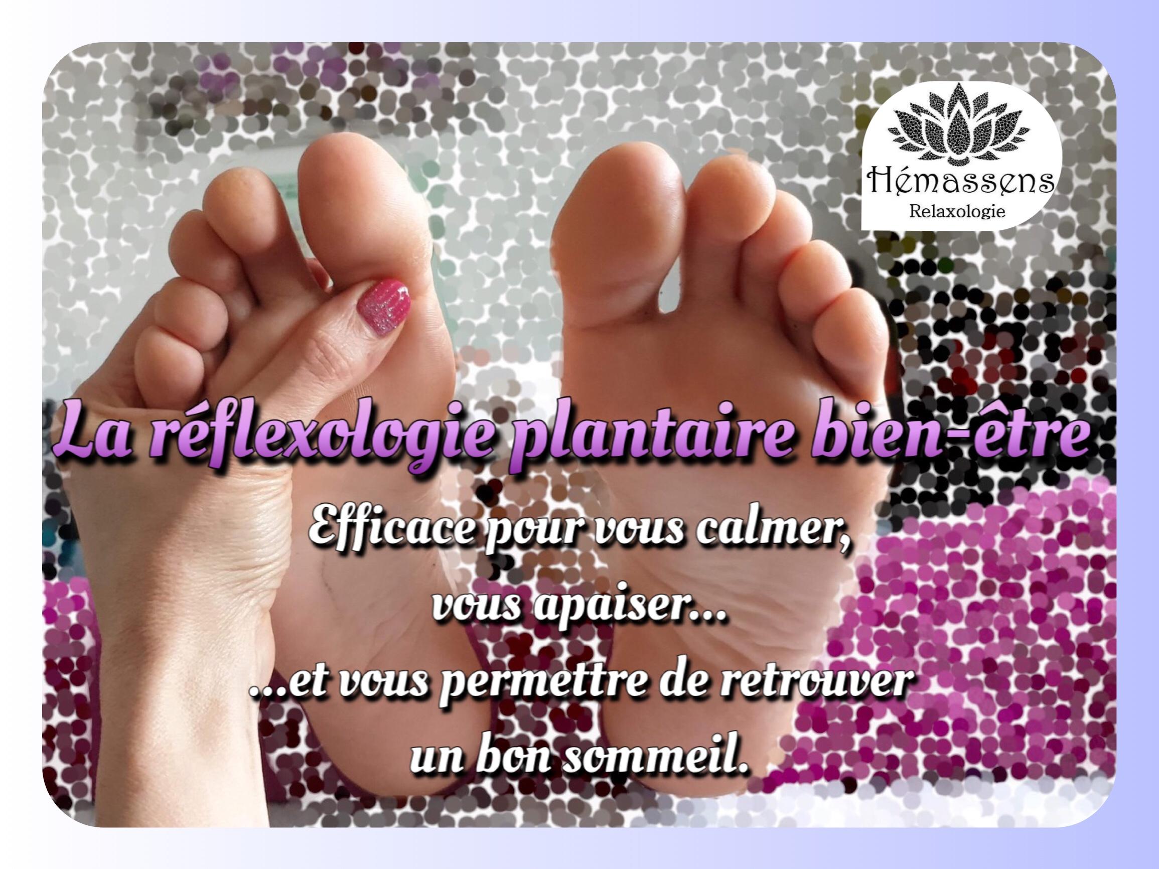 Réflexologie plantaire bien-être