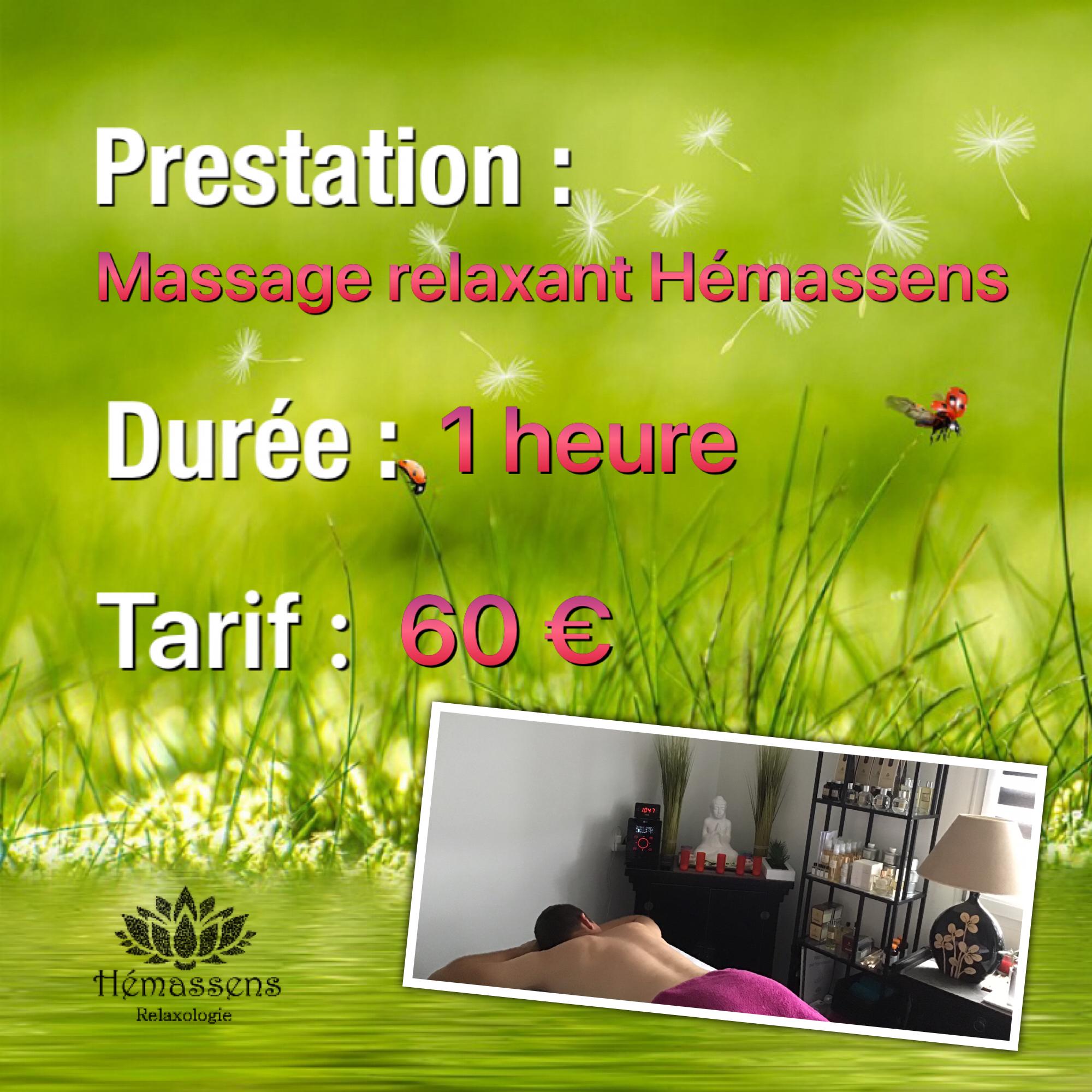 Massage sur-mesure Hémassens