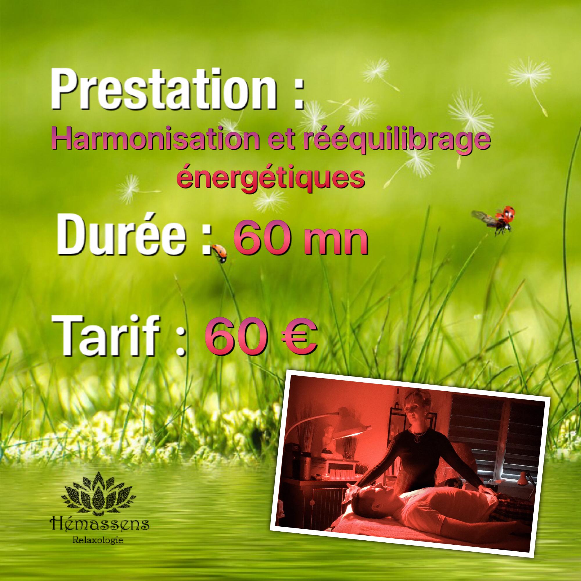 Harmonisation et rééquilibrage énergétique