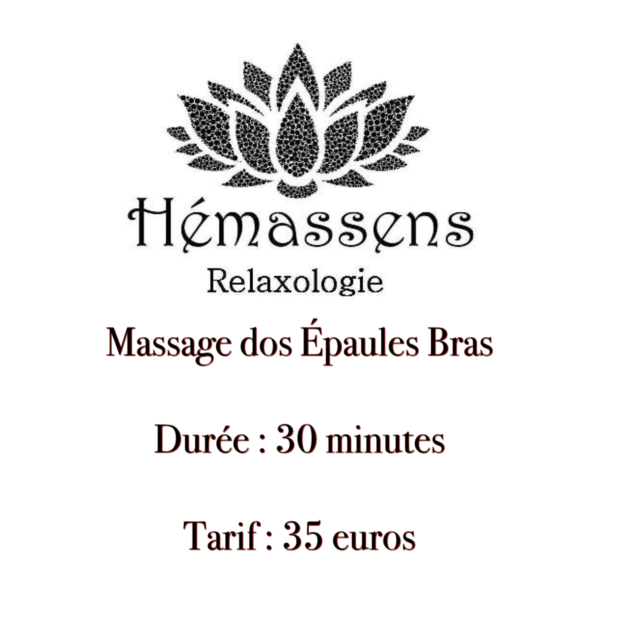 Massage Dos épaules bras