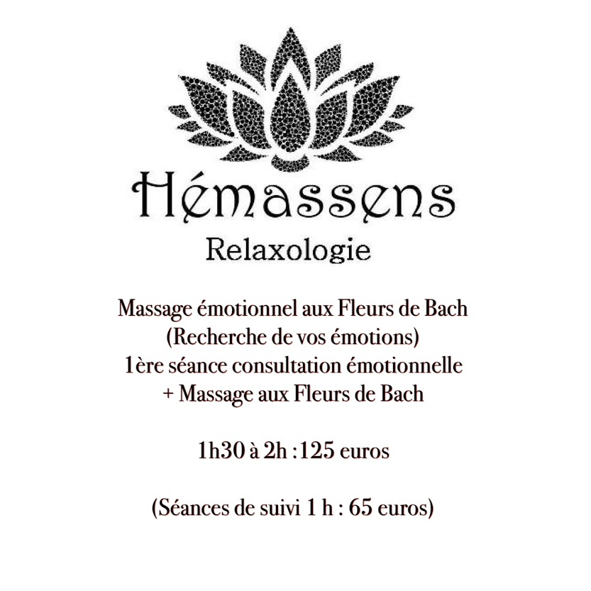 Massage émotionnel aux Fleurs de Bach