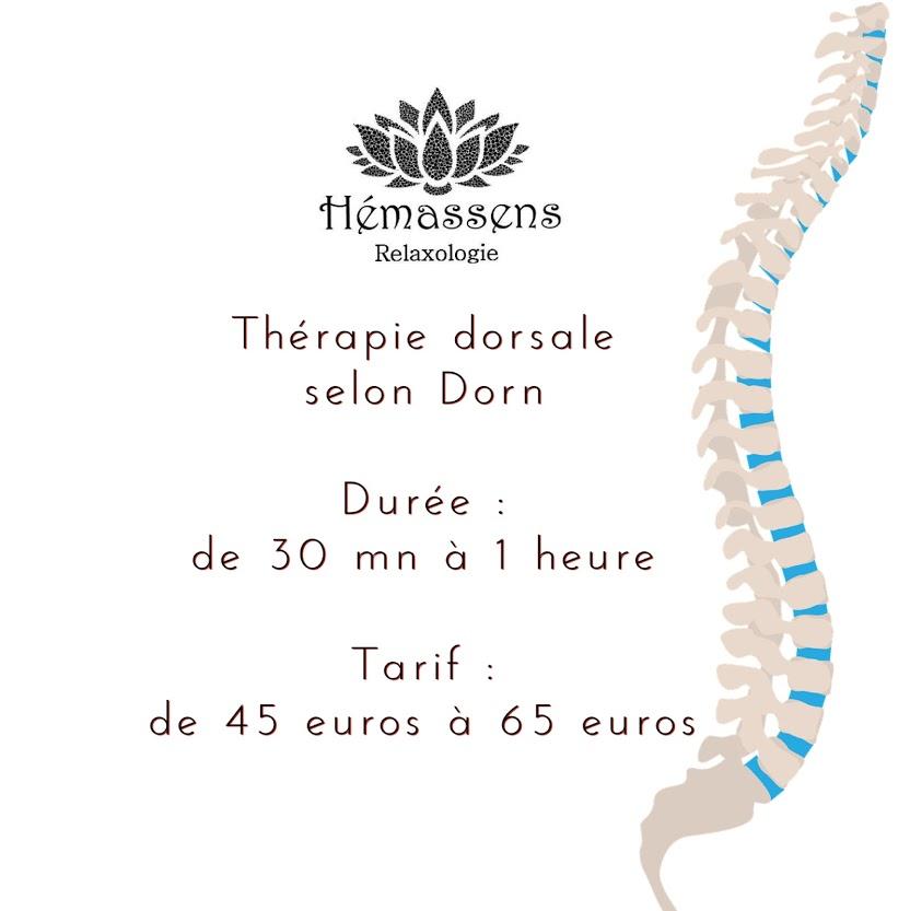 Thérapie dorsale selon Dorn